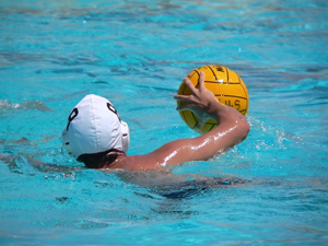 How to Shoot a Backhand in Water Polo