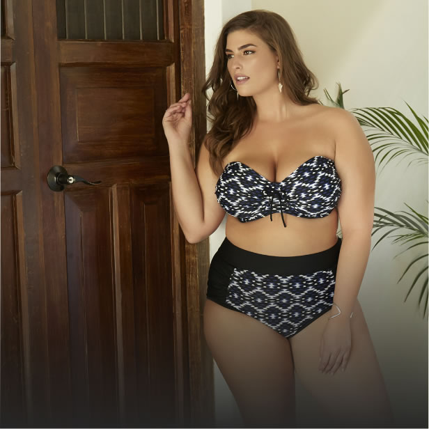 SHOP PLUS SIZE SWIMWEAR