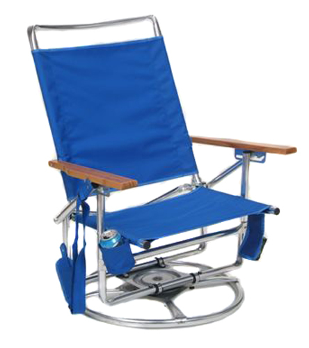 Suntracker higher blue chair at free shipping for Suntracker beach chair