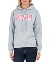 Image Sport I Heart To Swim Hoodie