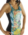 Girls4Sport Zen Garden Sports Tank Top With Shelf Bra