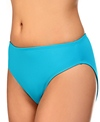 Jantzen Solid High Waist Bikini Bottom