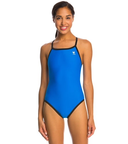ddb70cda81f49 TYR Solid Reversible Diamondfit Swimsuit at SwimOutlet.com - Free Shipping