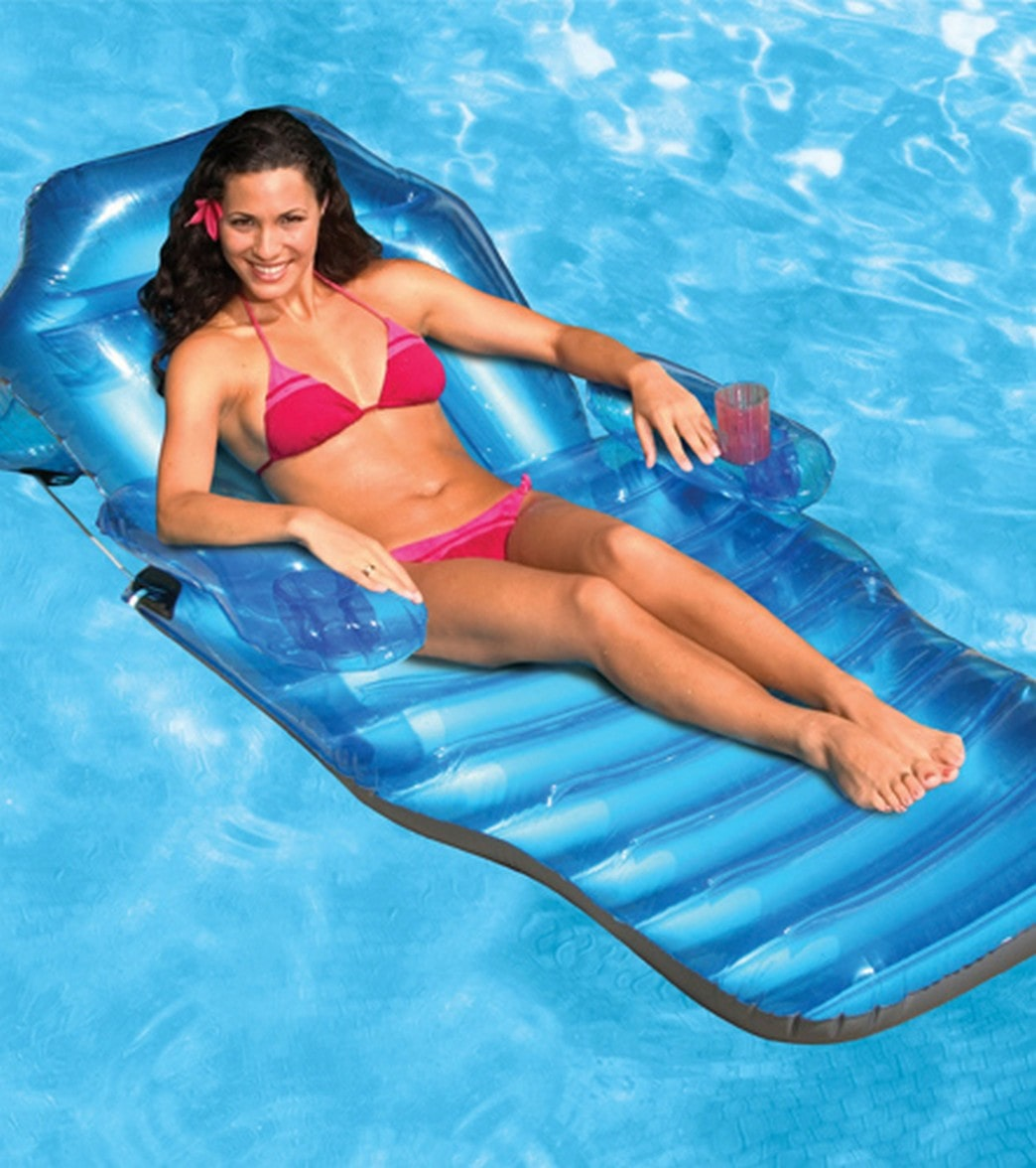 Poolmaster Adjule Chaise Floating Pool Lounge At Swimoutlet Com Free Shipping