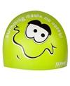 1Line Sports Me Happy Silicone Swim Cap