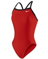 Nike Swim Solid Lingerie Tank One Piece Swimsuit