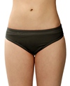 Speedo Mesh Spliced Hipster Bikini Bottom