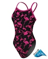 Sporti Flamingo Thin Strap Swimsuit