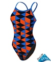 Sporti Diamonds Thin Strap Swimsuit