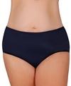 Maxine Swimwear Solid Full Bikini Bottom