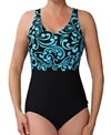 Reebok Fitness Swim Curls U-Back
