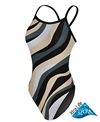 Sporti Zebra Thin Strap Swimsuit