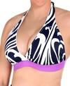 Nike Swim Cyber Wave D-Cup Bra Bikini Top