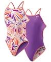 Nike Swim Butterfly Reversible Cut Out Tank One Piece Swimsuit