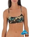 Sporti Modern Camo Y-Back Workout Bikini Top