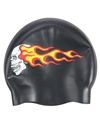 Bettertimes Flaming Skull Silicone Cap