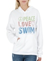 1Line Sports Peace Love Swim Sweatshirt