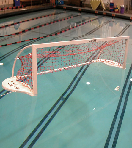 AntiWave Club Floating Water Polo Goal at SwimOutlet com - Free Shipping