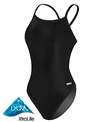 Sporti Reversible Solid Thin Strap Swimsuit