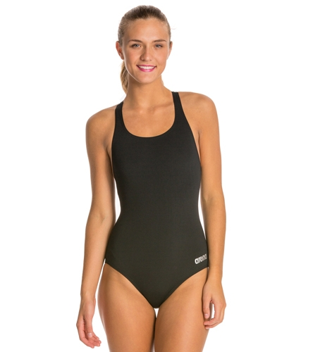 a228788b6b66b Arena Madison MaxLife Athletic Thick Strap Racer Back One Piece Swimsuit at  SwimOutlet.com - Free Shipping