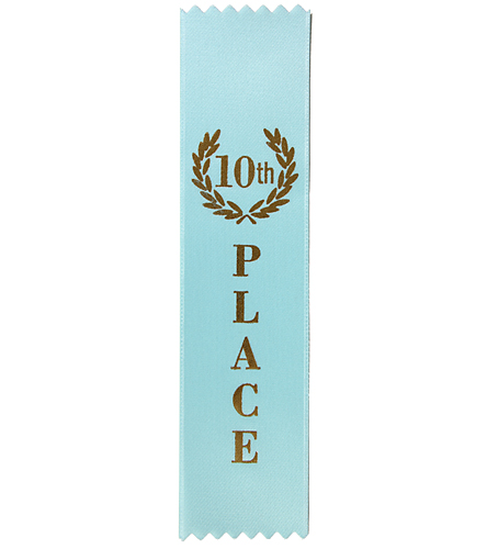 10th Place Stock Award Ribbon At Swimoutlet Com
