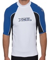 Xcel Men's UPF50+ S/S 3-Color Rashguard