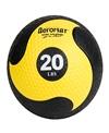 AeroMat Deluxe Medicine Ball 20lbs