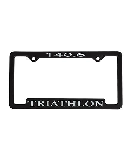 Bay Six 140.6 Triathlon License Plate Frame at SwimOutlet.com