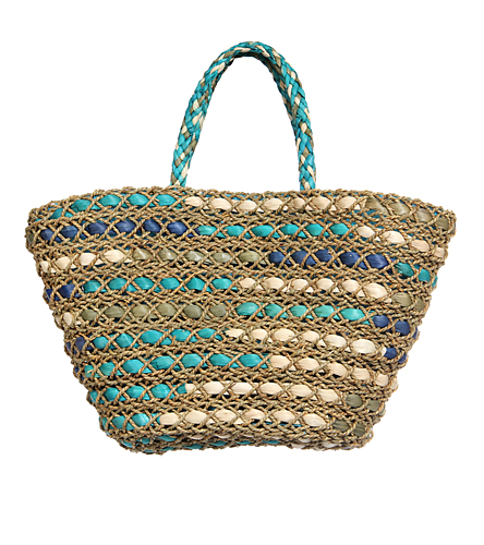 Sun N Sand Festiva Ray Shoulder Tote Beach Bag At