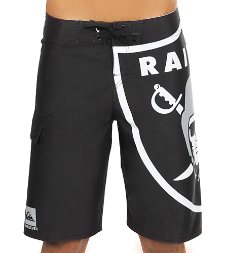 a2d25c78707 Quiksilver Oakland Raiders Boardshorts at SwimOutlet.com - Free Shipping