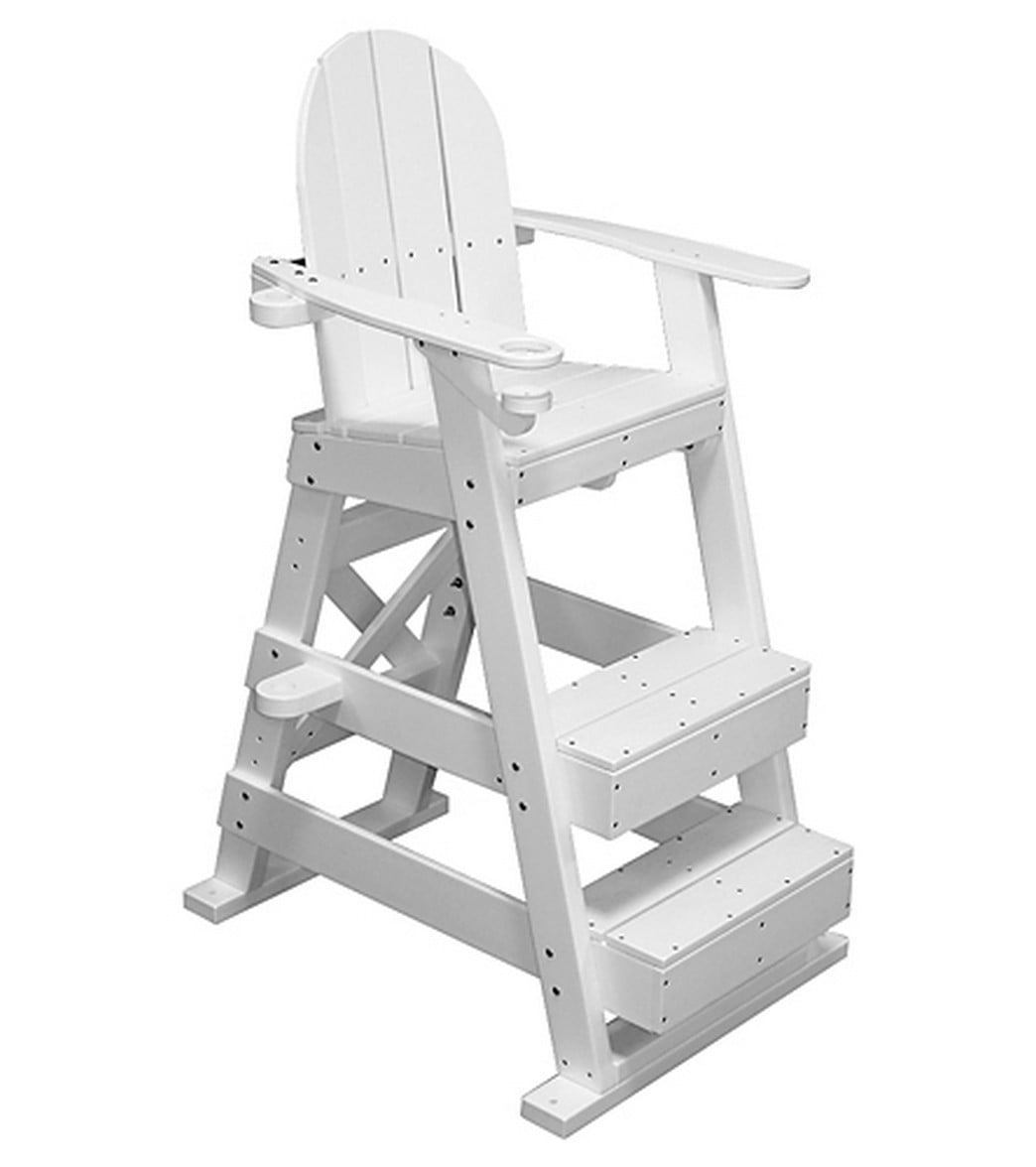 Tailwind Recycled Plastic Lifeguard Chair W/2 Steps At SwimOutlet.com    Free Shipping