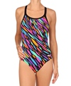 Dolfin Confetti DBX Back One Piece Swimsuit