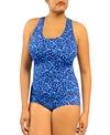 Ocean Conservative Lap Suit Flora