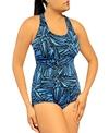 Ocean Conservative Lap Suit Grafika