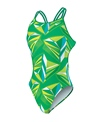 Nike Swim Jagged Geo Spider Back Tank