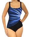 Reebok Fitness Swim Streak of Light U-Back Tank
