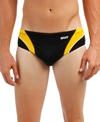 Sporti Polyester Piped Splice Swim Brief
