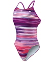 Nike Swim Horizon Cut Out Tank One Piece Swimsuit