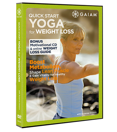 Gaiam Quick Start Yoga For Weight Loss DVD At YogaOutlet.com