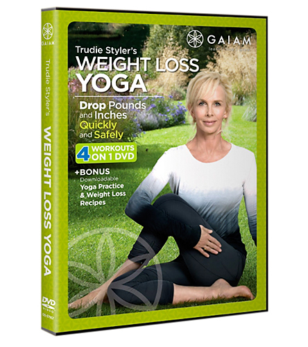Gaiam Trudie Styler's Weight Loss Yoga DVD At YogaOutlet.com