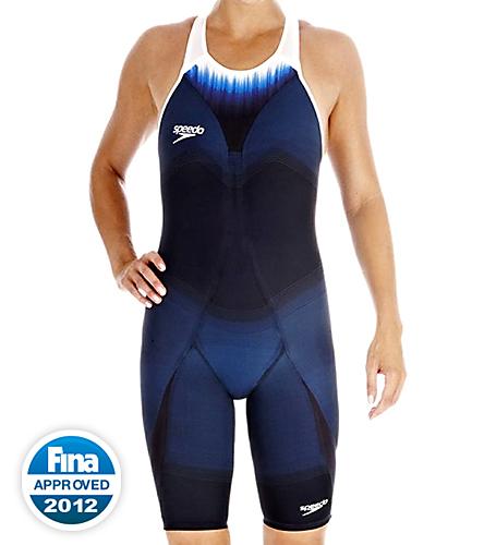 67bc386d000a3 Speedo Fastskin3 Super Elite Recordbreaker Kneeskin Tech Suit Swimsuit  Closed Back Tech Suit Swimsuit