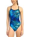 Speedo Primal Splash Flyback Swimsuit