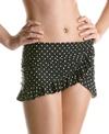 Jantzen Pretty Pin Dot Dotty French Curve Swim Swim Skirt