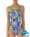 Sporti Sights of London Thin Strap Swimsuit
