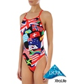 Sporti Flags Thin Strap Swimsuit
