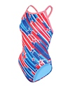 Dolfin Uglies Stars and Stripes V-2 Back One Piece Swimsuit