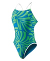 Nike Swim Women's Reversible Cut Out Tank One Piece Swimsuit