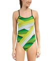 Nike Swim Women's Bound Cut Out Tank One Piece Swimsuit