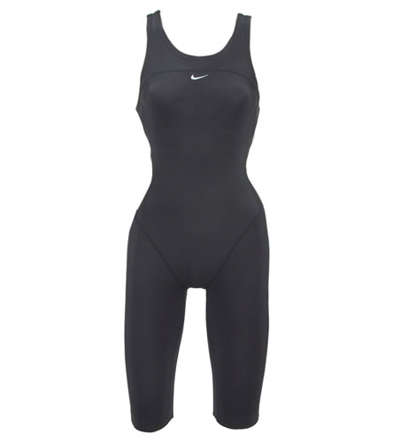 6a449cd482 Nike Swim Hydra Female Neck To Knee Tech Suit Swimsuit at ...