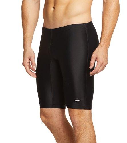 6a6372e8ec Nike Swim Nylon Core Solids Jammer Swimsuit at SwimOutlet.com